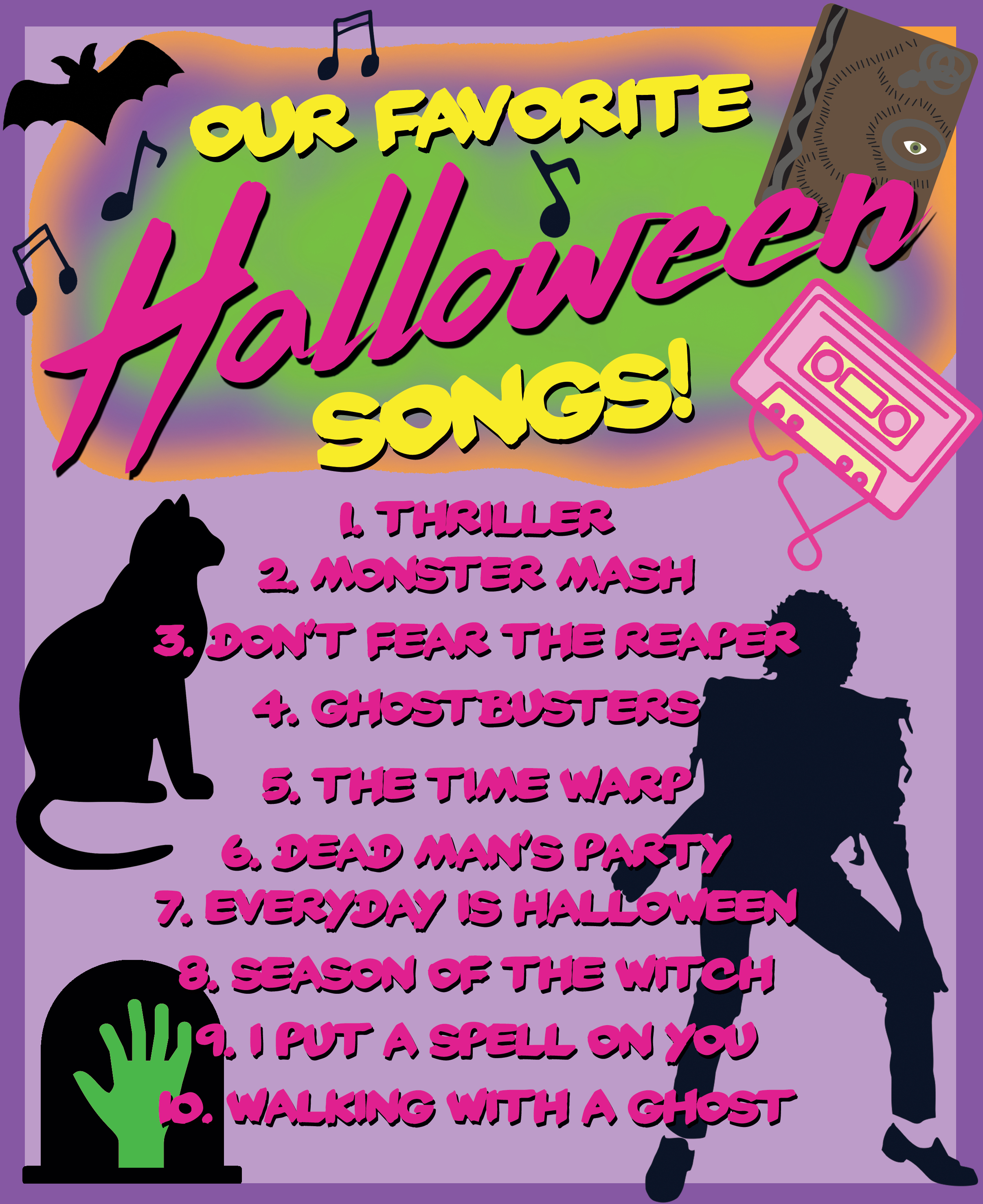 Our Favorite Halloween Songs! ⋆ Brite and Bubbly