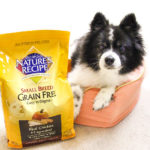 Mister Pink Loves His Nature's Recipe Dog Food!
