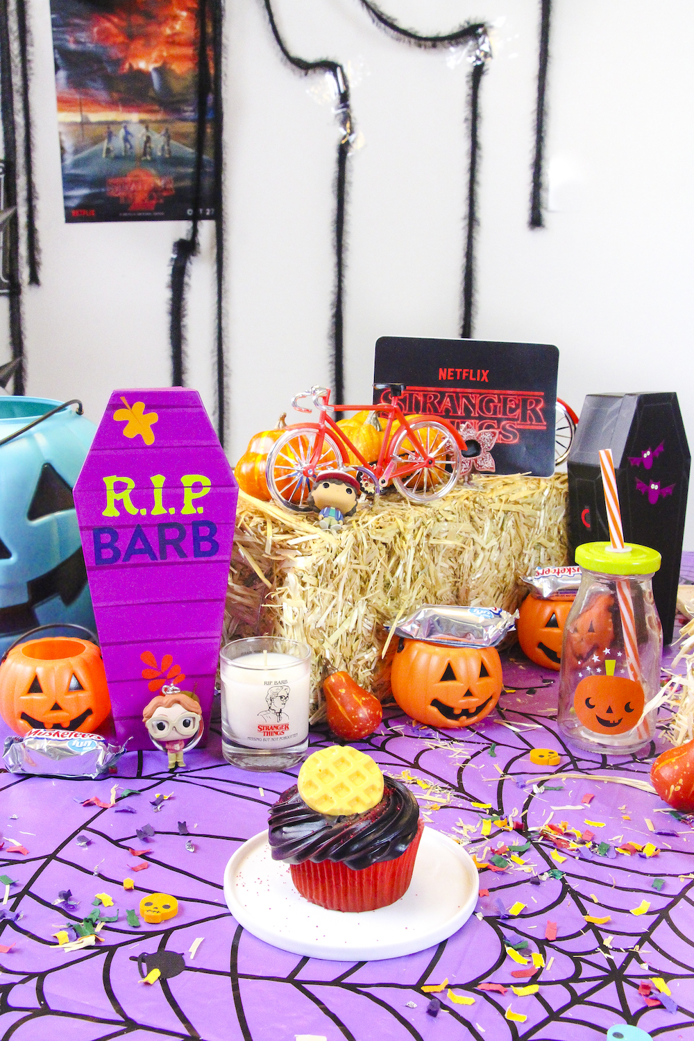 Our Stranger Things Halloween Party! ⋆ Brite and Bubbly