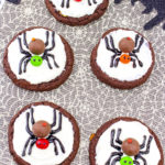 Yummy Spooky Spider Cookies!
