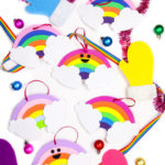 DIY Cute Rainbow Ornaments!