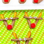 Easy Rudolph Chocolate Pretzels!