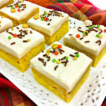 Yummy Pumpkin Spice Cookie Bars!
