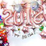 2017 New Years Balloon Backdrop!