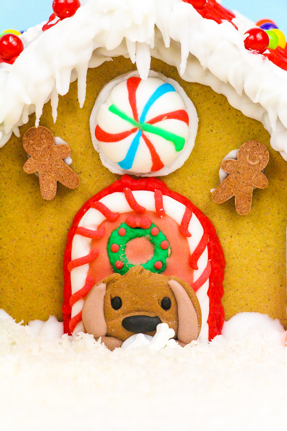 Dog House Gingerbread House Kit