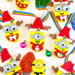 DIY Edible Minions Christmas Ornaments!