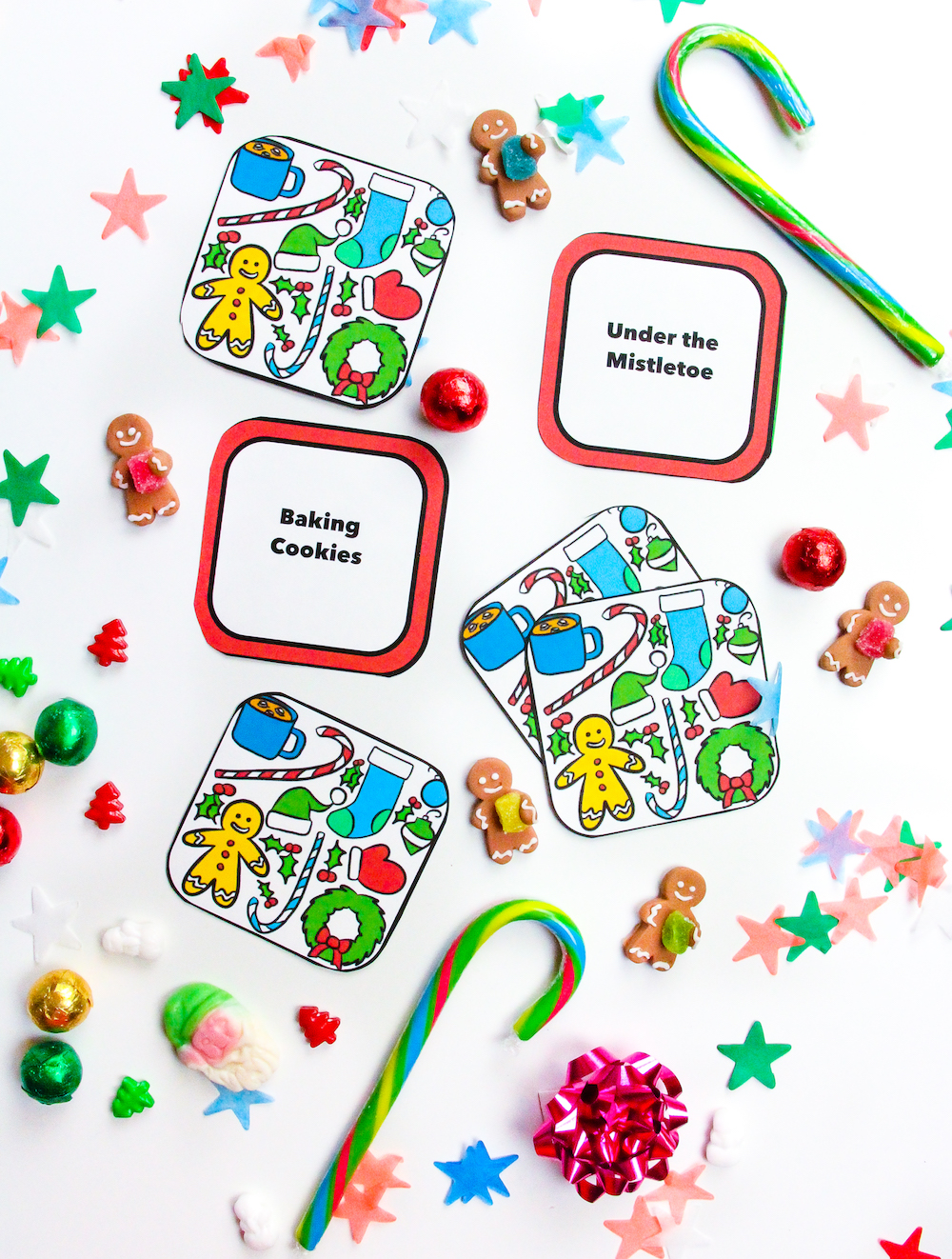 picture relating to Charades Printable named Cost-free Printable Holiday vacation Charades Video game! ⋆ Brite and Bubbly