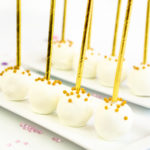 New Year's Pink Champagne Cake Pops!
