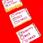 Rice Krispies Santa Checklists!