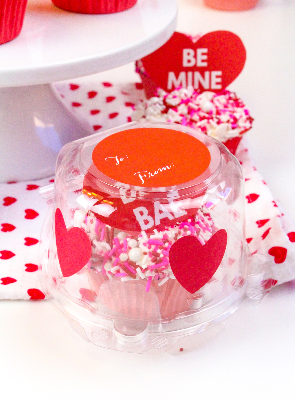 how to make cute valentines day cupcakes