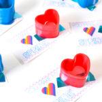 Throwback Heart Slinky Valentine!