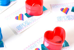 Throwback Heart Slinky Valentine!