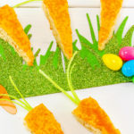 Easy Easter Carrot Rice Krispy Treats!