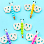 DIY Spring Chocolate Pretzel Butterflies!