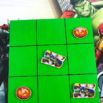 Easy DIY Avengers Tic Tac Toe Game!