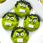 Easy DIY Hulk Cookies!