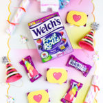 DIY Welch's Fruit Rolls Unicorn Party Favors!