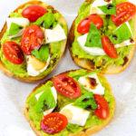 Yummy Balsamic Avocado Toast!