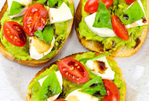 Yummy Balsamic Avocado Toast!
