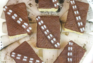 DIY Chewbacca Rice Krispies Treats!