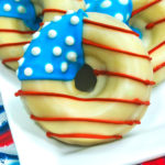 Patriotic National Donut Day Donuts!