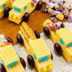 Easy Vanilla Wafer Construction Trucks!