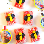 DIY Incredibles 2 Rice Krispies Treats!