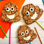 DIY Emoji Poo Rice Krispies Pops!