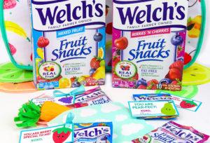 DIY Printable Lunch Notes With Welch's Fruit Snacks!