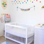 Our Rainbow Bubbly Baby Nursery Reveal!