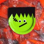 Easy DIY Frankenstein Monster Plates!