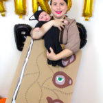 5 Minute DIY Hocus Pocus Mommy & Me Costume!