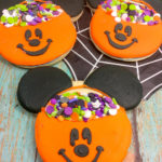 DIY Mickey Pumpkin Cookies!