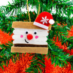 DIY Santa S'mores Ornaments & Magnets!