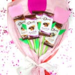 DIY Spring Chocolate Bars Bouquet!