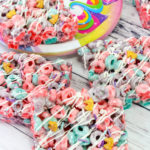 Rainbow Unicorn Cereal Treats!