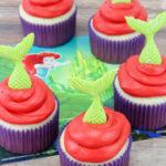 The Little Mermaid 30th anniversary Cupcakes!