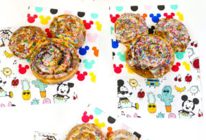 Mickey Celebration Cinnamon Rolls!