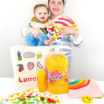 Easy DIY Fruit Patch Lunch Tote and Snack Bags!
