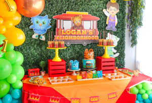 Our Daniel Tiger 1st Birthday Party!