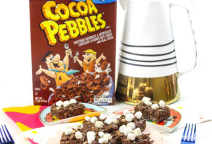 Cocoa PEBBLES™ S'mores Marshmallow and Chocolate Treats!