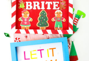 DIY Darice Crafts Holiday Wooden Signs!