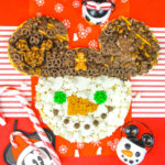 Mickey Ears Snowman Dessert Board!