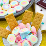Saint Patty's Day Rainbow S'Mores Dip!