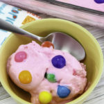 At Home Recipe : Easy Bubble Gum Ice Cream!
