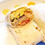 Copycat Galactic Grill American Breakfast Burrito!