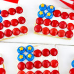 Easy July 4th American Flag Graham Crackers!