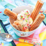 Disney Churro Sundae For National Ice Cream Day!