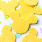 Easy DIY Mickey Sponges!