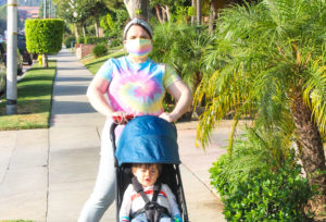 Enjoying Our Morning Walks With The Ergobaby Metro Compact City Stroller!